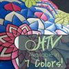 The store image for DecoFilm® Paint FX- it shows a close up of a multi colored design and advertises there are 7 colors of DecoFilm® Paint FX