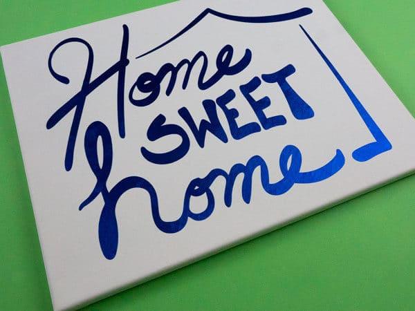 Home Sweet Home Cut File