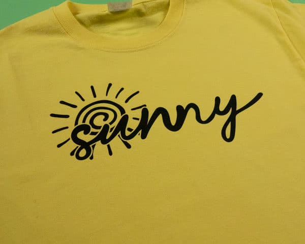 Sunny Cut File