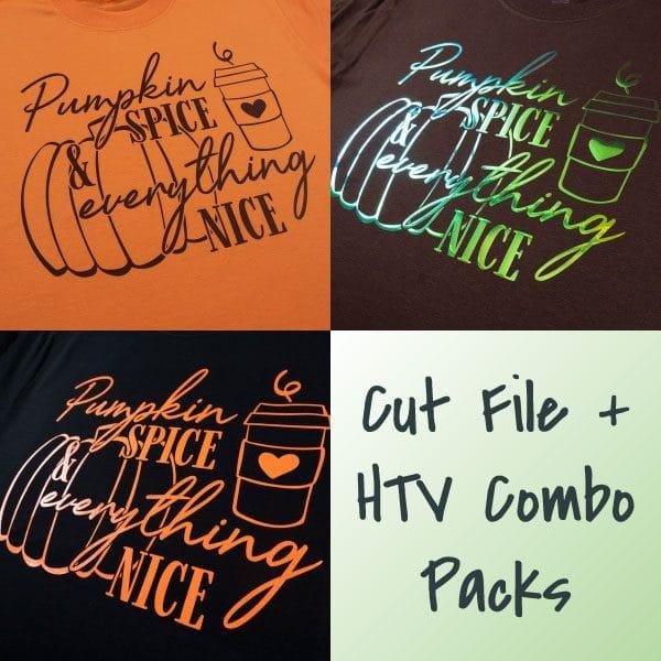Pumpkin Spice Combo Packs