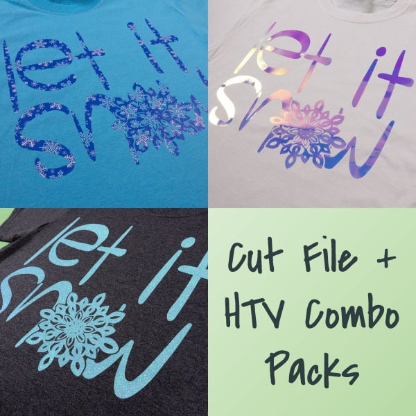 Let It Snow Combo Packs