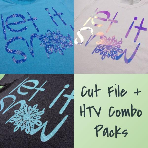 Let It Snow Combo Packs