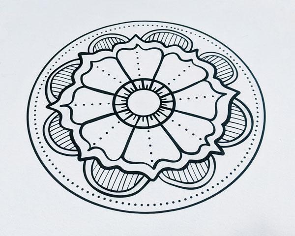 Flower Mandala Cut File