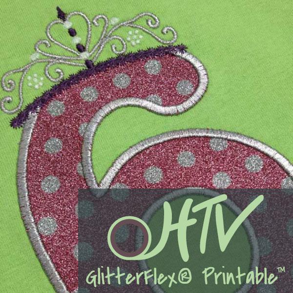 GlitterFlex® Printable
