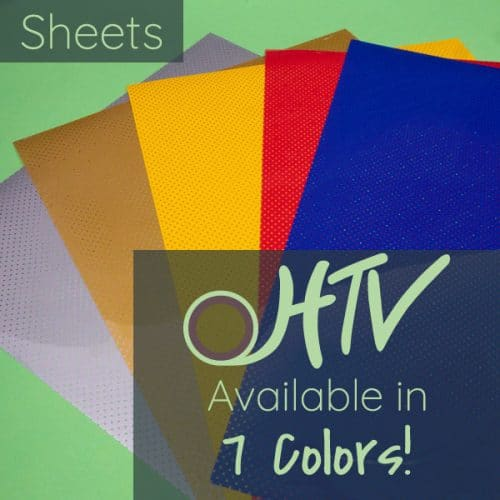 The store image for FashionFlex® Perf Sheets - it shows a bunch of sheets and advertises there are 7 colors of FashionFlex® Perf Sheets